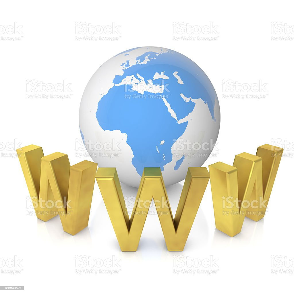 Global Internet royalty-free stock photo