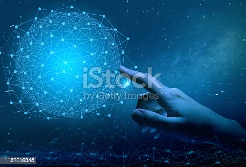 istock global introduction of industry 4.0 in production. improvement of mobile communications up to 5 g. future technologies in modern society are already like everyday life 1182216345