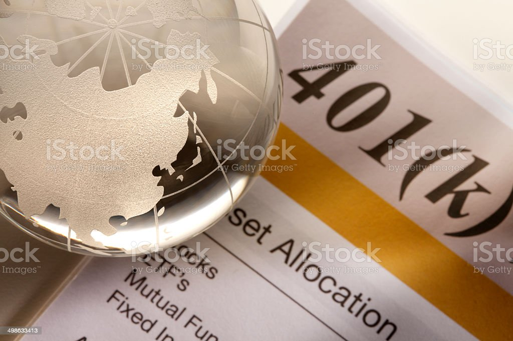 Global Investing stock photo