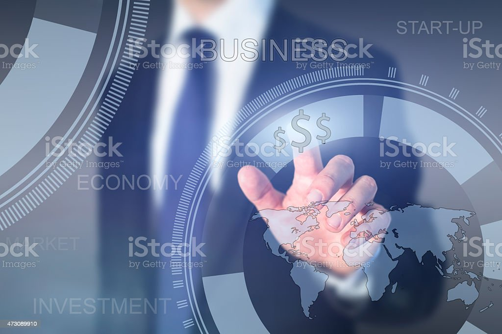 global investment stock photo