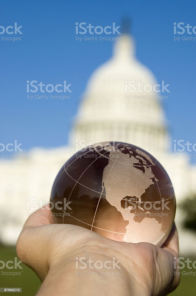 Global Leader royalty-free stock photo