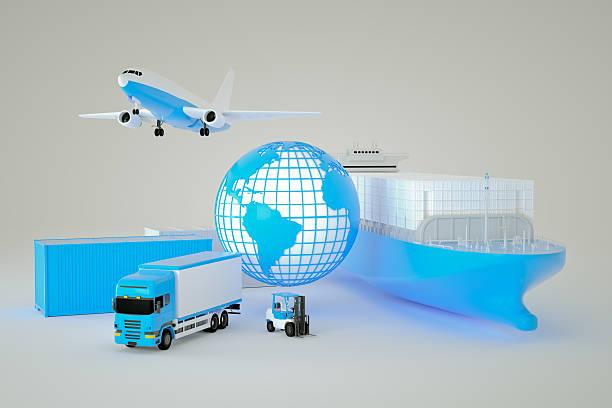 global logistik - umzug transport stock-fotos und bilder