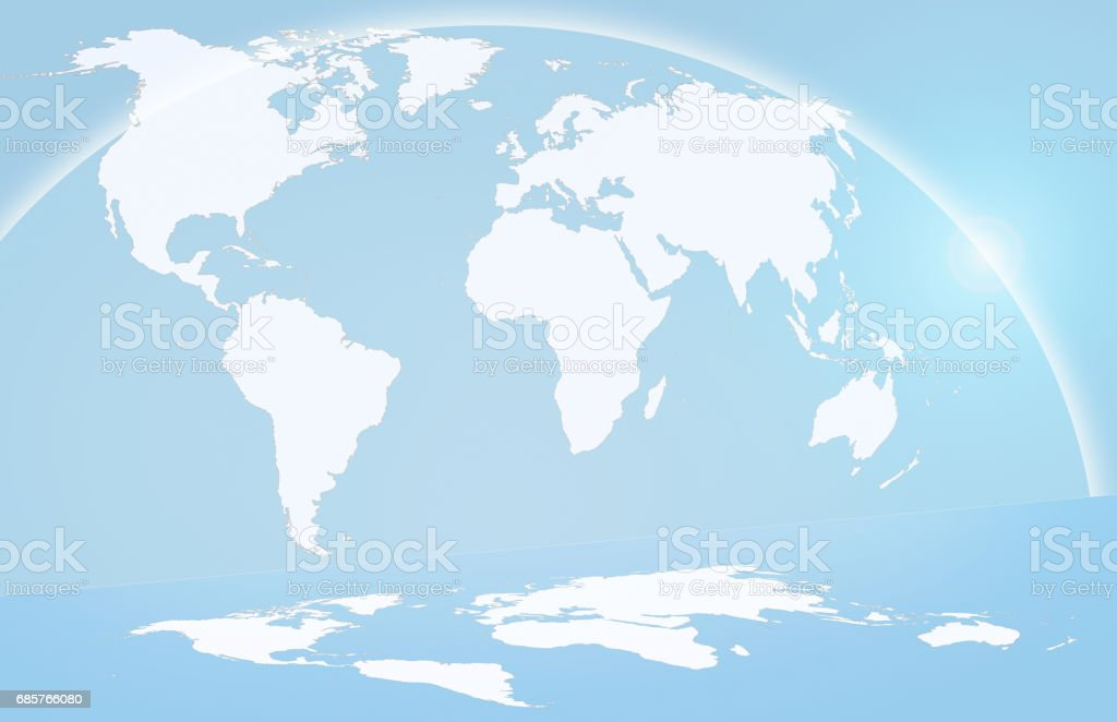 global map royalty-free stock photo