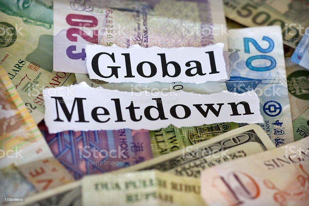 Global Meltdown royalty-free stock photo