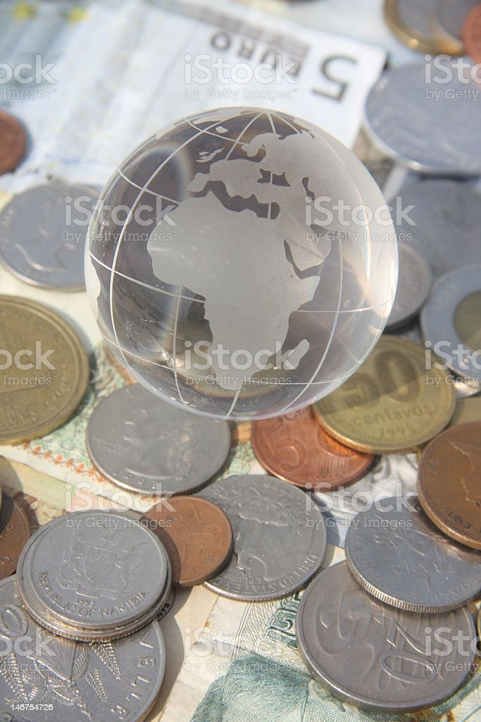 Global money and wealth royalty-free stock photo