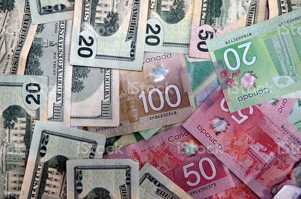 Global Money Economy stock photo