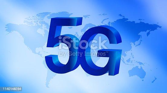 istock 5G global network 3d symbol idea 1140146234