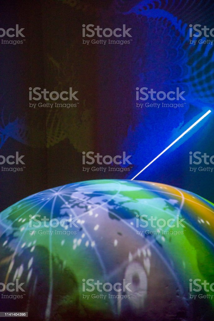 global network and energy concept