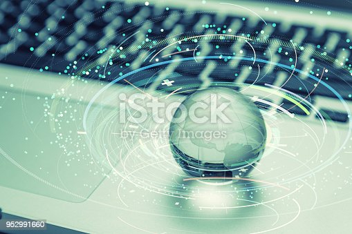 istock Global network concept. Digital technology. 952991660