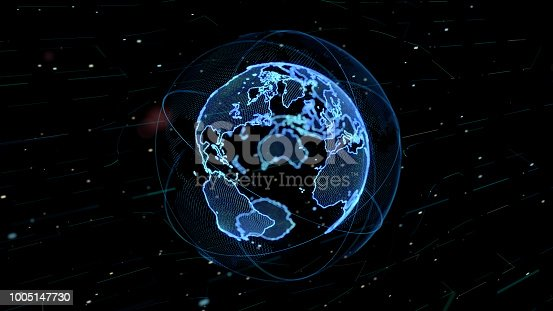 889231130istockphoto Global network concept. 1005147730