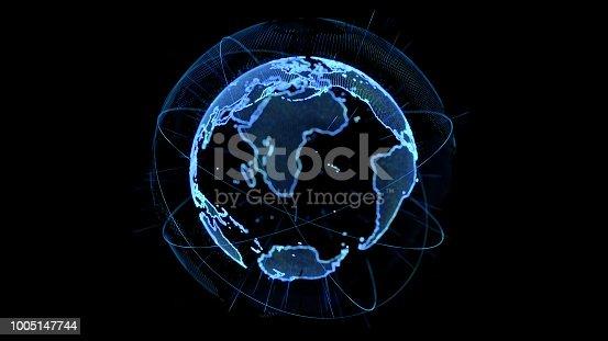 istock Global network concept. 1005147744