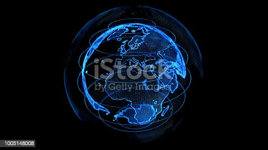 889231130istockphoto Global network concept. 1005148008