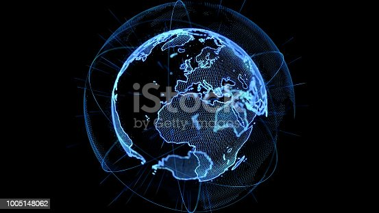 889231130istockphoto Global network concept. 1005148062