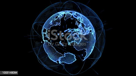 889231130istockphoto Global network concept. 1005148094