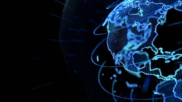Globalen Netzwerk-Konzept. – Foto