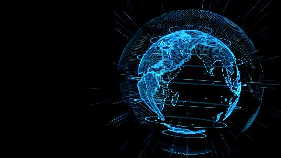 istock Global network concept. 1005148228