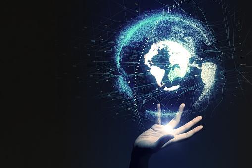 istock Global network concept. 889351654