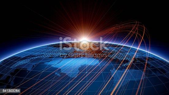 istock Global network 541303284