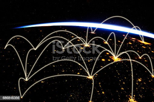 istock Global network 686846356