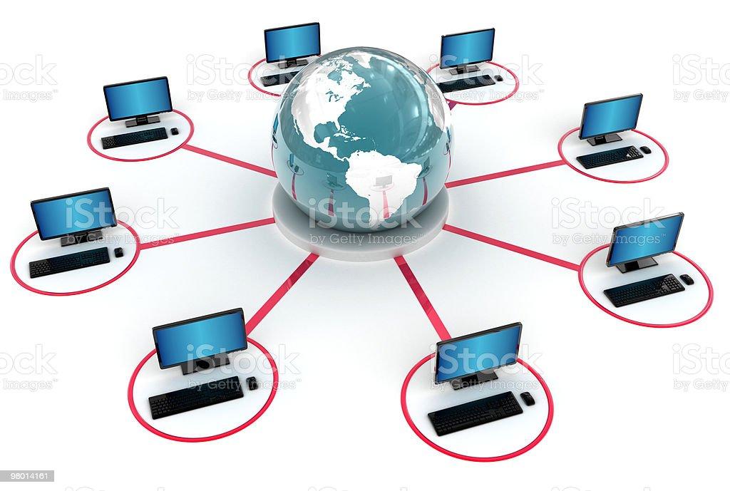 Global Network  XXXL (13333x8975 px) royalty free stockfoto