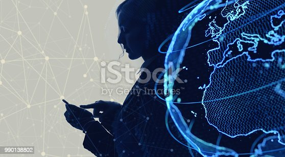 889231130istockphoto Global netwrok concept. Internet of Things. IoT. 990138802