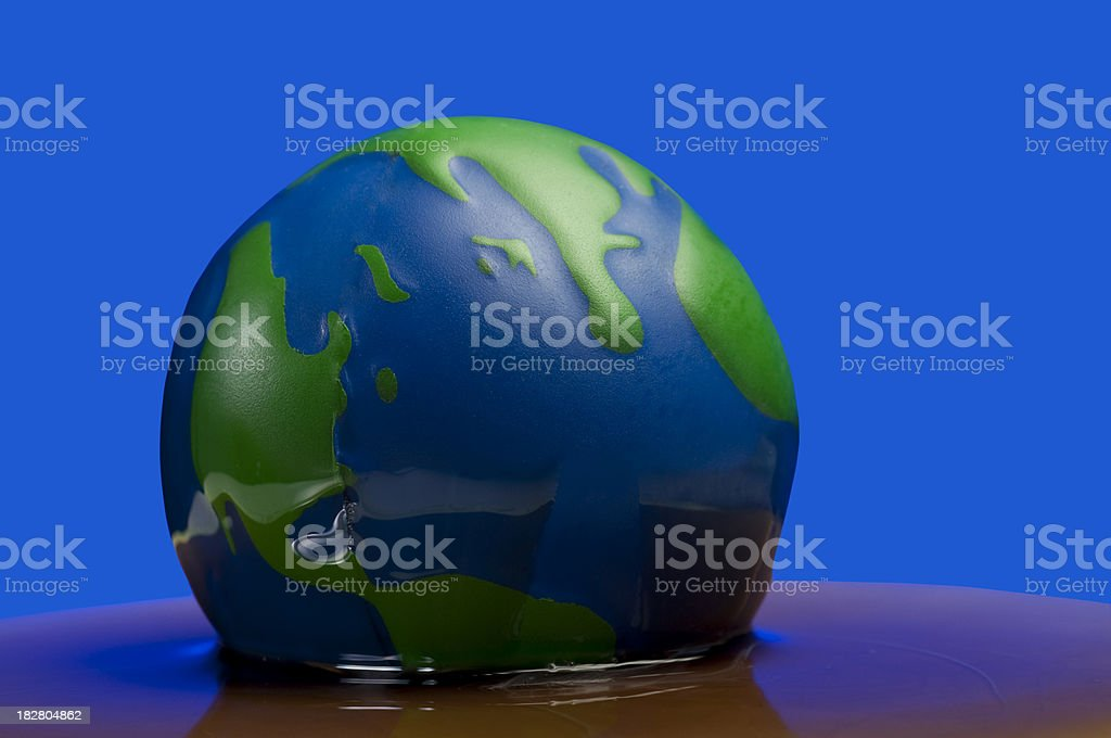 Global Oil Spill royalty-free stock photo