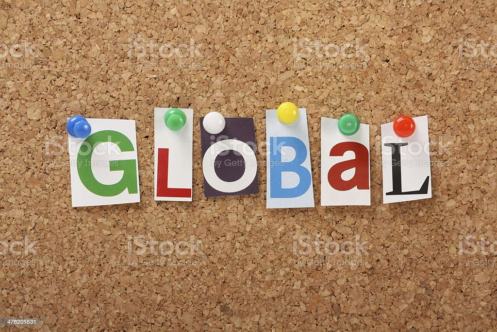 Global royalty-free stock photo