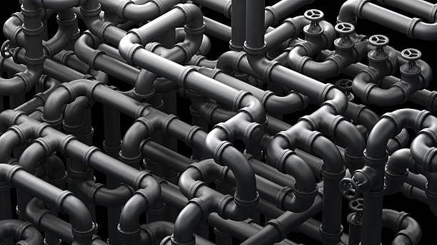 global pipeline - complexity stock photos and pictures