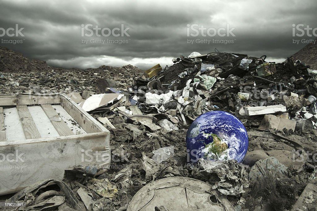 Global Umweltverschmutzung – Foto