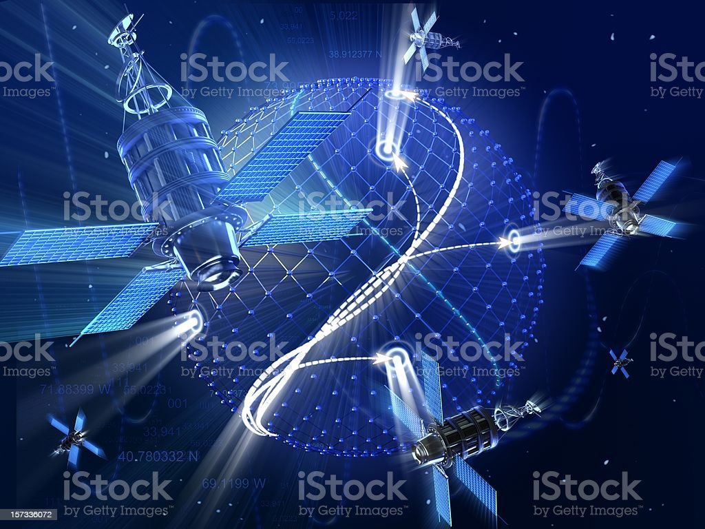 Global Positioning System royalty-free stock photo
