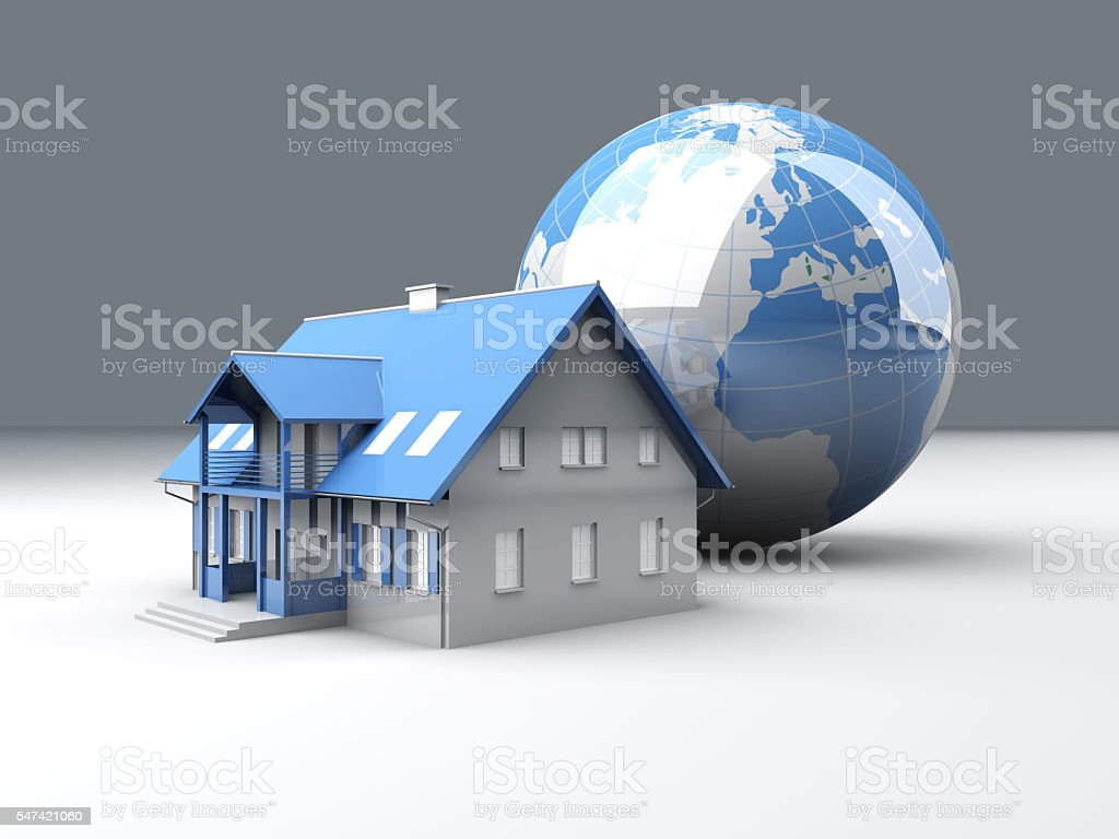 Global Real Estate stock photo