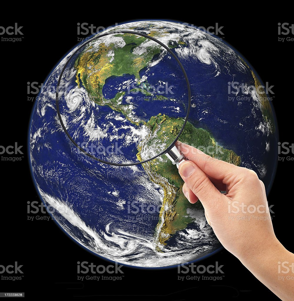 Global Research royalty-free stock photo