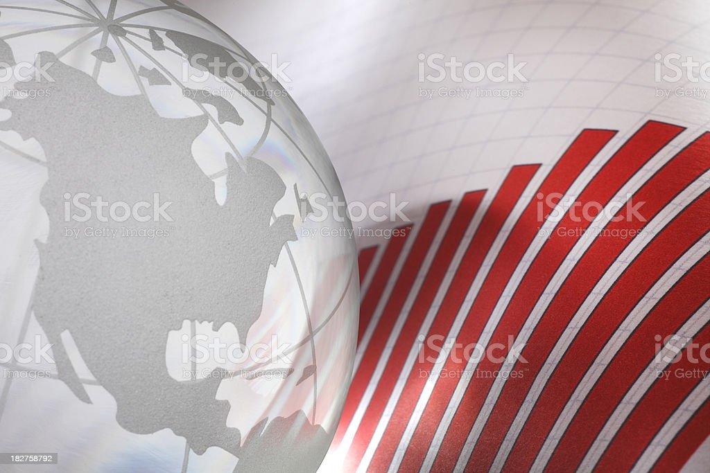 Global Sales royalty-free stock photo