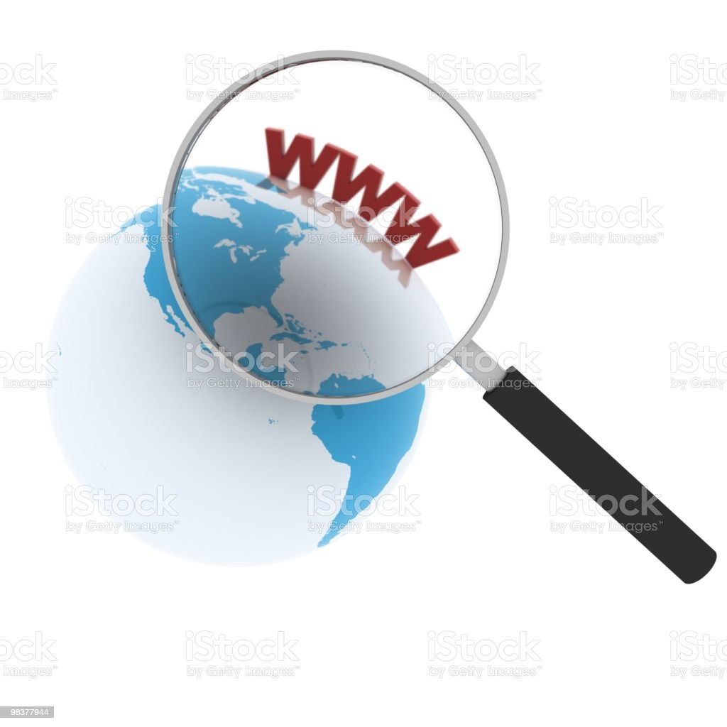 Global Search royalty-free stock photo