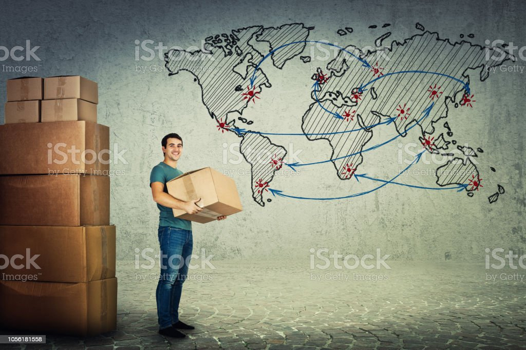 Weltweiter Versand und Lieferung – Foto
