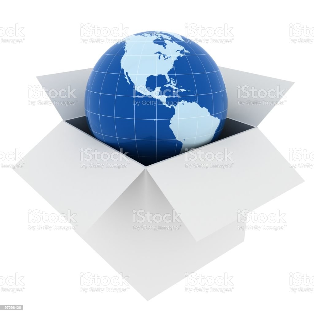 Global Shipping royalty-free stock photo
