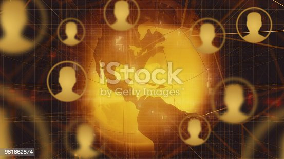 istock Global Social Network Backgrounds 981662874