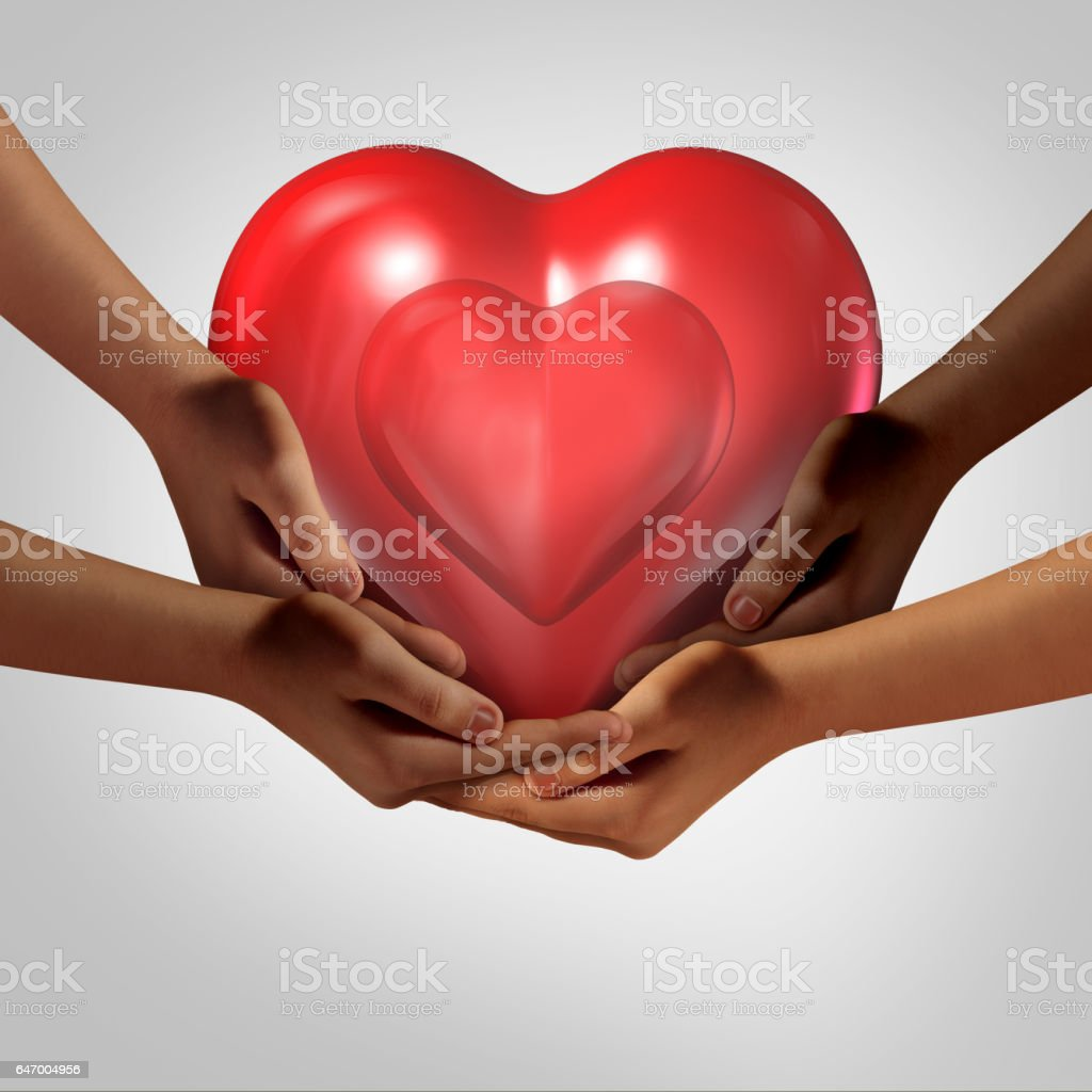 Global Society Love stock photo