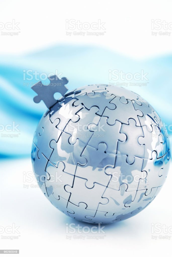 Global solution royalty-free stock photo