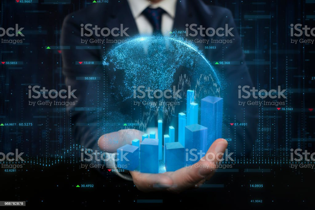 Global Stock Market And Exchange Concept Stock Photo