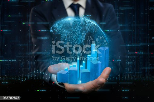 istock Global Stock Market and Exchange Concept 968782878