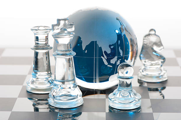 Global Strategy concept stock photo