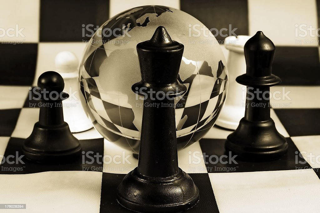 Global strategy royalty-free stock photo