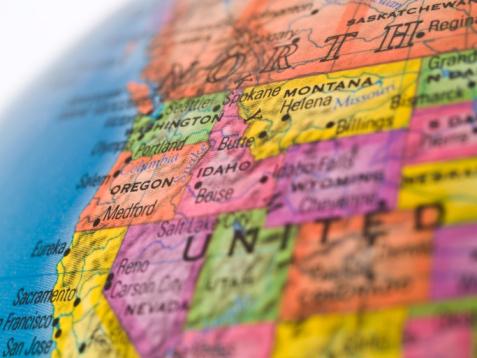 istock Global Studies - Focus on Oregon State 97667072