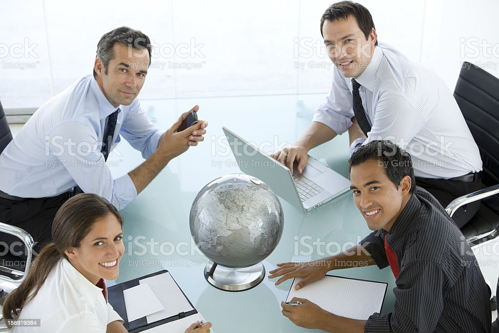 Global Team royalty-free stock photo