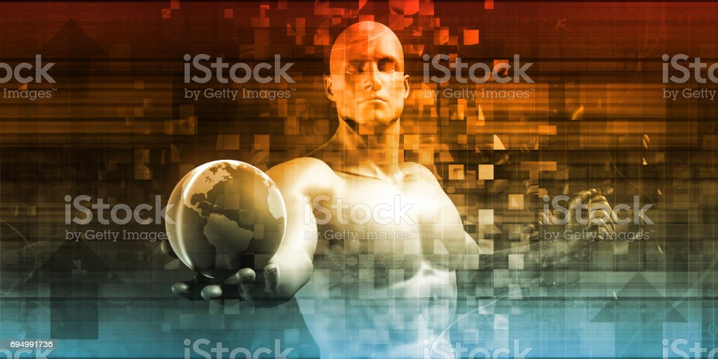Global Technology stock photo