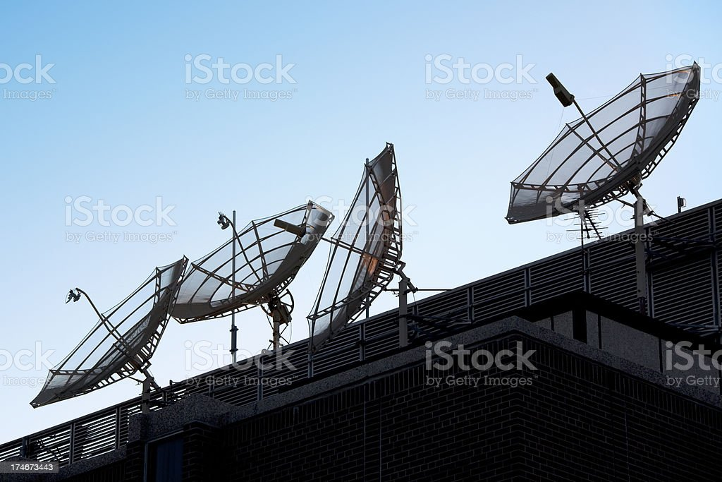 Global Telecommunications royalty-free stock photo