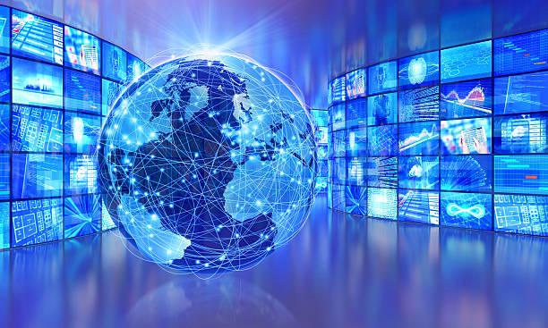global television broadcasting, multimedia images around the world - jorden nyheter bildbanksfoton och bilder