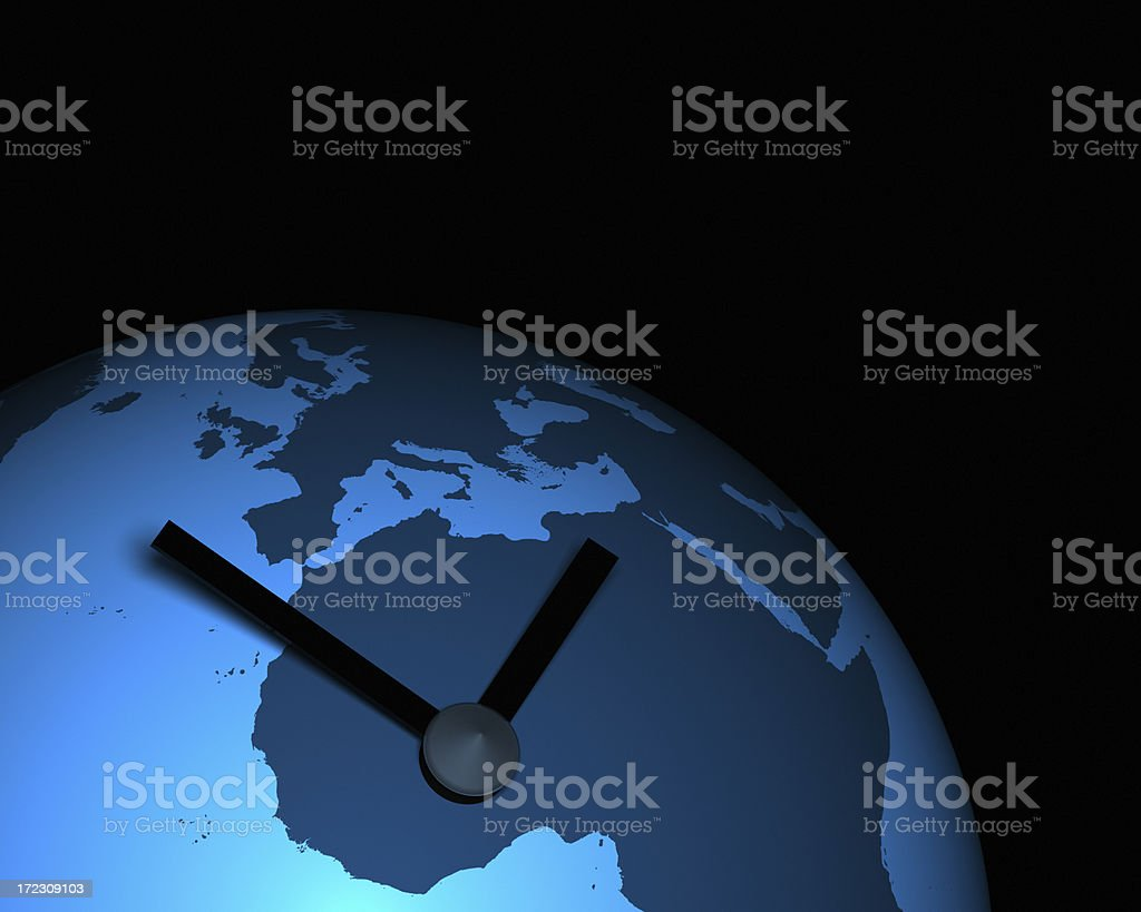 Global Time XL stock photo