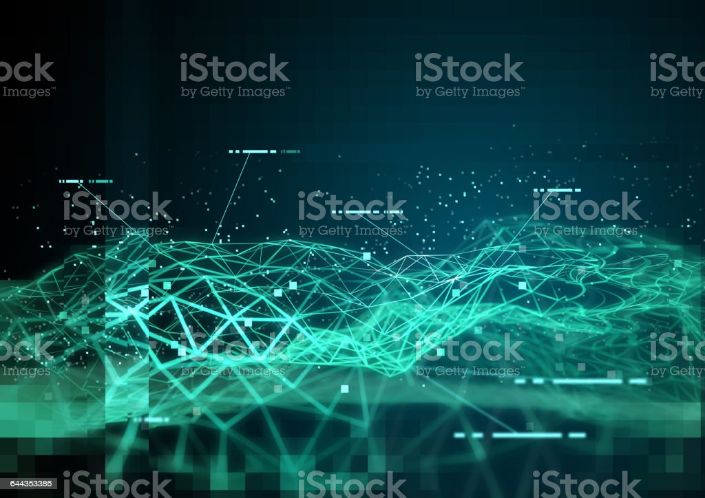 Global Tracking Data stock photo